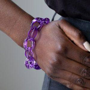 Ice Ice Baby - Purple Bracelet